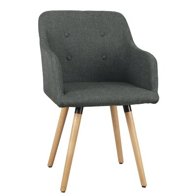Bentwood Leisure Arm Chair Upholstery: Gray