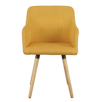 Bentwood Leisure Arm Chair Upholstery: Yellow
