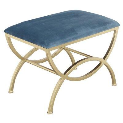 Luxury Ottoman Upholstery: Blue