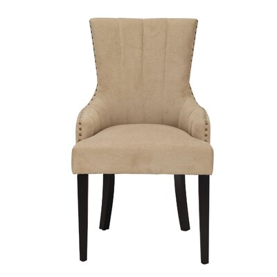 Fabric Arm Chair Upholstery: Cream