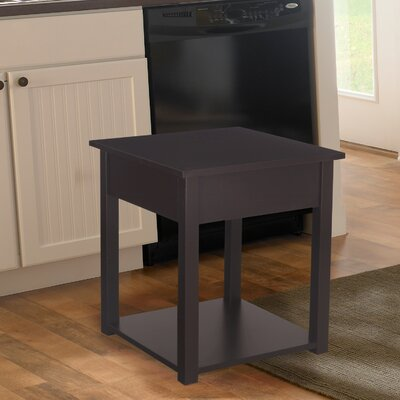 Modern Classic End Table Color: Brown