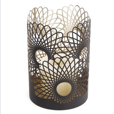 2016 New Modern Flower Metal Votive