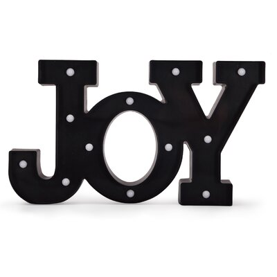 LED JOY Letter Block