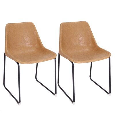Vintage Side Chair Finish: Camel