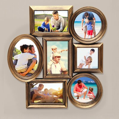 7 Opening Plastic Picture Frame