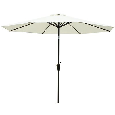 9 Market Umbrella Fabric: Beige