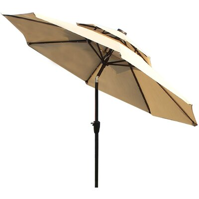 9 Illuminated Umbrella Fabric: Tan