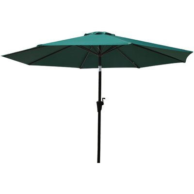 9 Market Umbrella Fabric: Dark Green