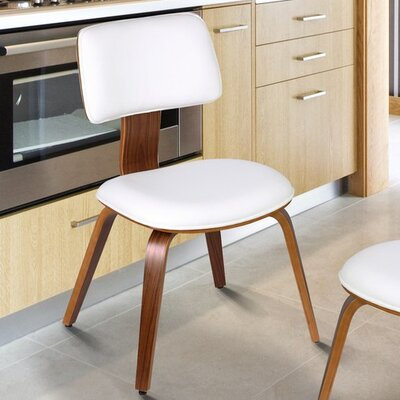 Bentwood Side Chair Upholstery: Matt White