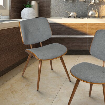 Bentwood Side Chair Upholstery: Gray