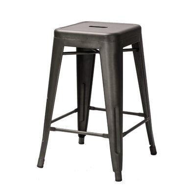Zane 24 Bar Stool Finish: Bronze