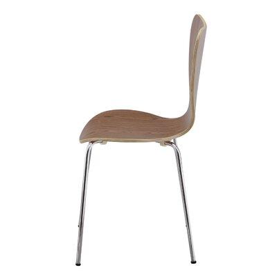 Edensor Indoor/Outdoor Side Chair (Set of 2) Finish: Black
