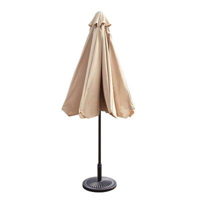 Lakin 9 Drape Umbrella Fabric: Khaki