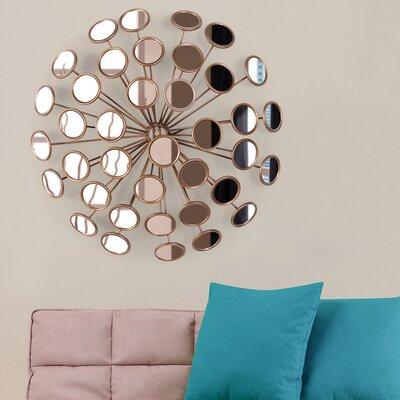 Contemporary Decorative Starburst Accent Mirror