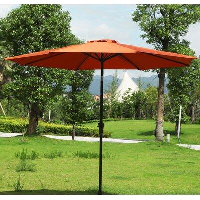 9 Market Umbrella Fabric: Orange