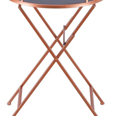 Collins Modern Accent Metal Tray Table