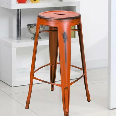 30 Bar Stool Finish: Orange