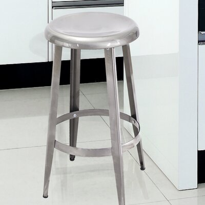 26 Bar Stool Finish: Gunmetal