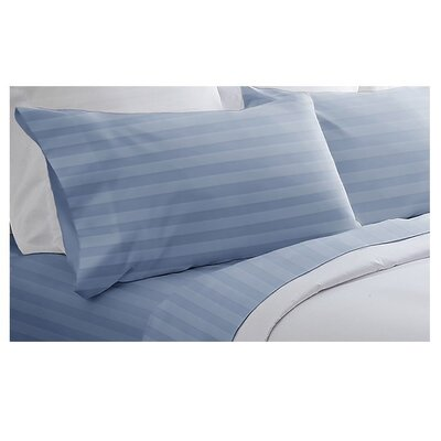 Spirit 4 Piece 400 Thread Count Cotton Sheet Set - Size: Queen Color: Light Blue