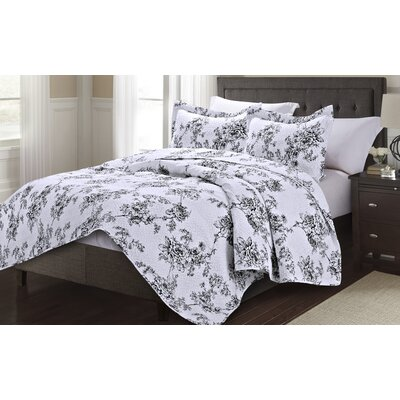 Napoli 3 Piece King Quilt Set