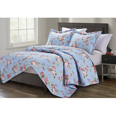 Napoli 3 Piece Queen Quilt Set