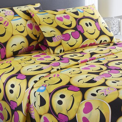 Emoji Sheet Set Size: Queen