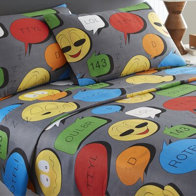 Emoji Sheet Set Size: Twin