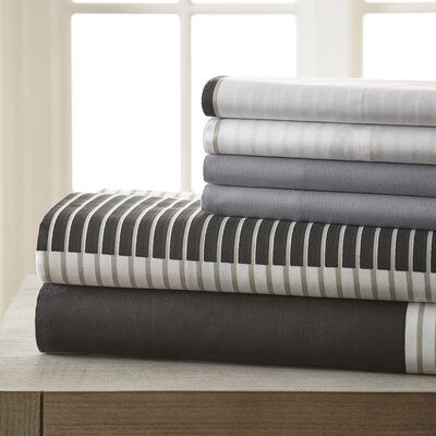 Kris 6 Piece Sheet Set Size: King
