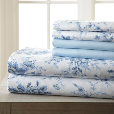 MaryLou 6 Piece Sheet Set Size: Queen