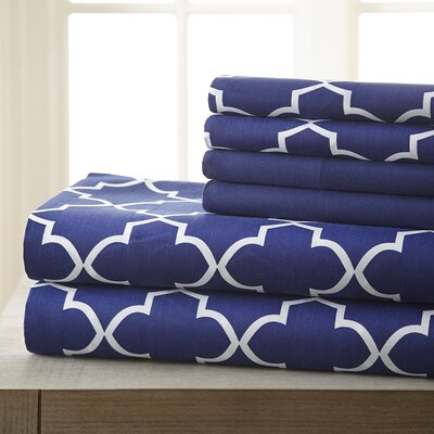Hamptonburgh 6 Piece Sheet Set Size: Queen