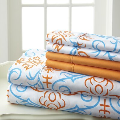 Aldham 6 Piece Sheet Set Size: King