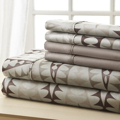 Socorro Zigzag Sheet Set Size: Queen