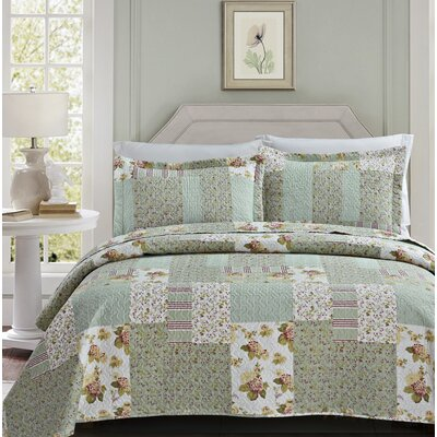Gaudette 3 Piece Quilt Set Size: Queen