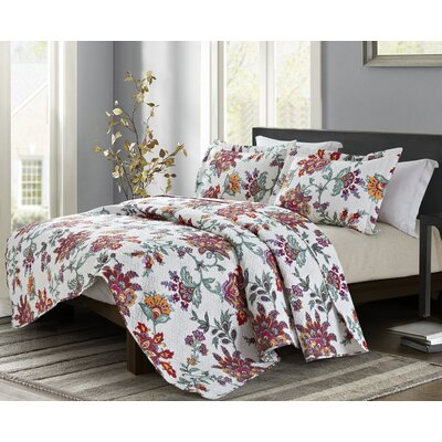 Clementina 3 Piece Quilt Set Size: King