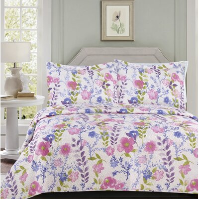 Oakland 3 Piece Quilt Set Size: Queen