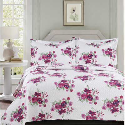 Oakland Modern 3 Piece Quilt Set Size: Queen