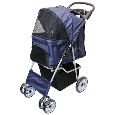 Parisian Pet Stroller Color: Dark Blue