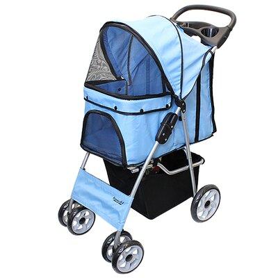 Parisian Pet Stroller Color: Light Blue
