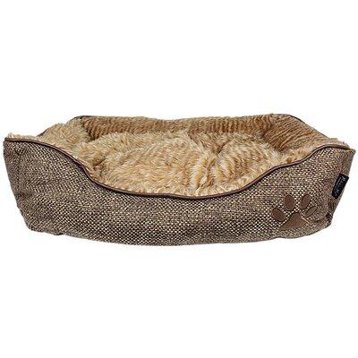 Cabana Lounger Dog Bed Color: Brown