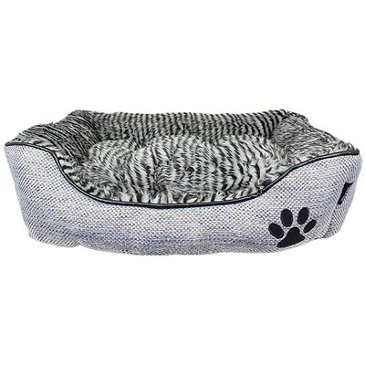 Cabana Lounger Dog Bed Color: Gray