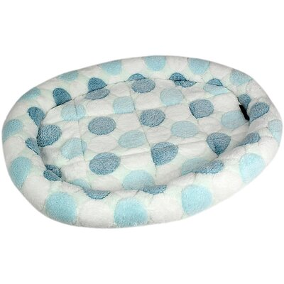 Cotton Candy Dog Mat Color: Blue