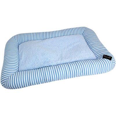 Malibu Dog Mat Color: Blue, Size: Medium - 27 L x 18 W