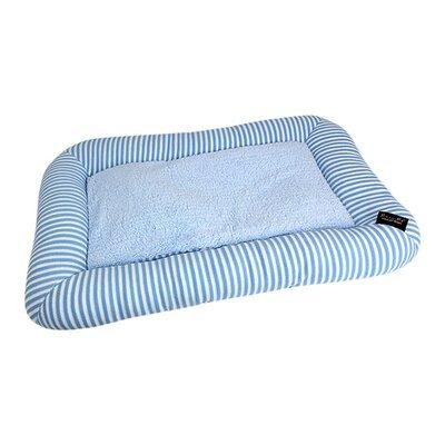 Malibu Dog Mat Size: Small - 21.5 L x 13 W, Color: Blue