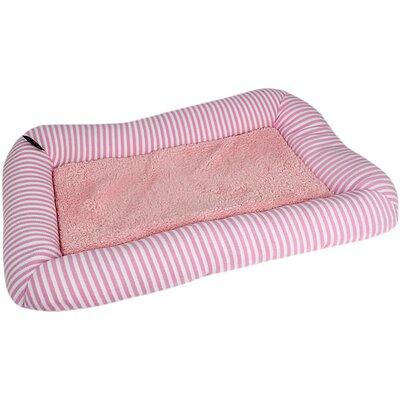 Malibu Dog Mat Color: Pink, Size: Medium - 27 L x 18 W
