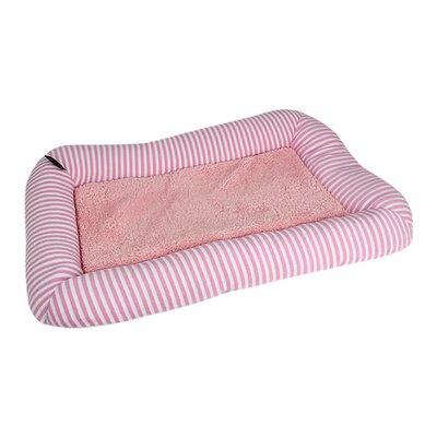 Malibu Dog Mat Size: Small - 21.5 L x 13 W, Color: Pink