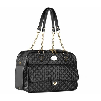 London Quilted Pet Carrier