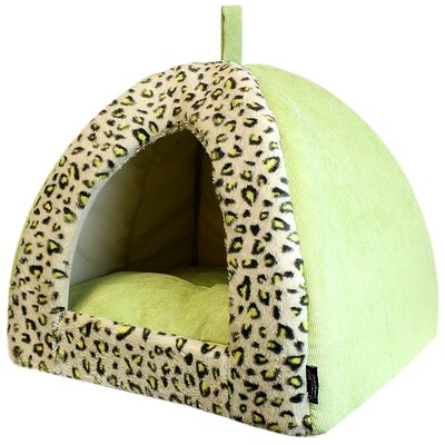 Safari Dog House Color: Green