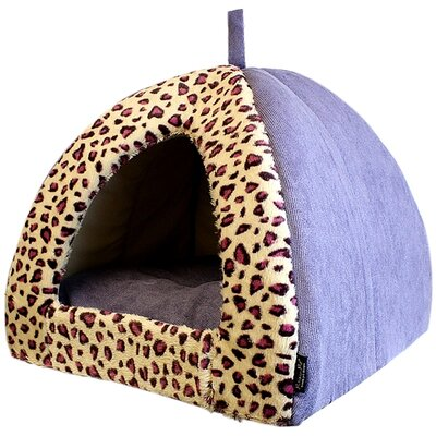 Safari Dog House Color: Purple