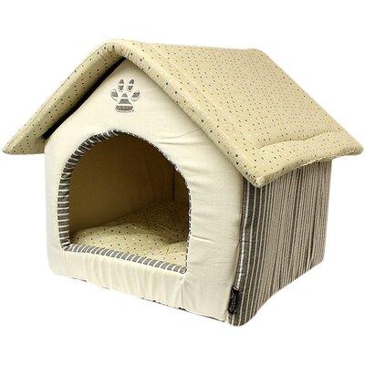 Almond Plush Dog House