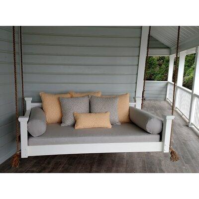 Southern Savannah Porch Swing Size: Twin, Finish: White
